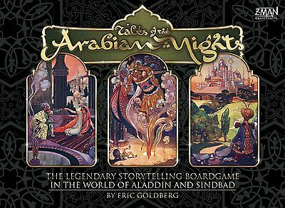 Tales of the Arabian Nights - Z-Man Games - New Board Game
