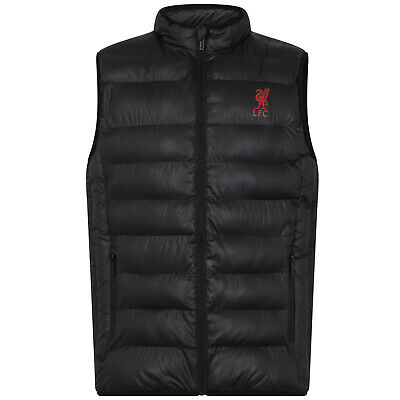 Liverpool FC Official Football Gift Boys Padded Body Warmer Jacket Gilet