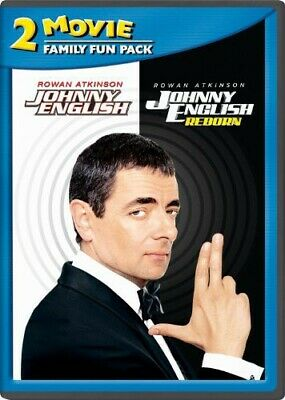 Johnny English 2-Movie Family Fun Pack (2014, DVD NEW)