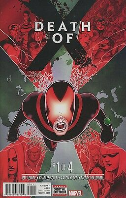 Death Of X #1 (Of 4) Marvel Comics 10/5/16