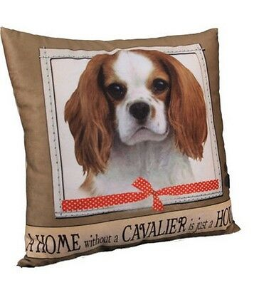 Cavalier King Charles Spaniel Throw Pillow A Home Without is Just a House Dog