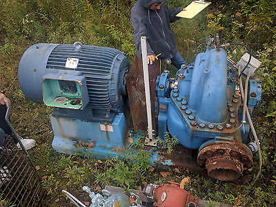 Goulds Split-Case, Two-Stage  3316 6x8x17 Pump with 200HP Motor up to 1700GPM