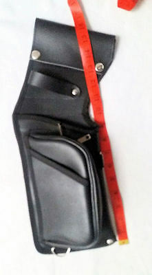 Full Leather Deluxe Field Quiver Rh, Black