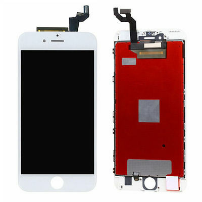 """LCD Screen Display + 3D Touch Screen Digitizer + Frame For iphone 6S 4.7"""" White"""