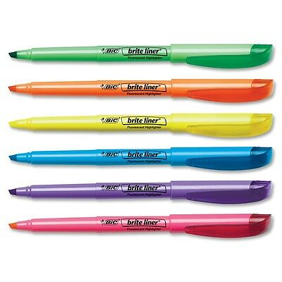 BIC Brite Liner Assorted Highlighter - 12 Pack