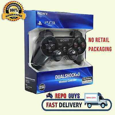 Genuine Sony Playstation PS3 Dualshock®3 Wireless Controller Black Playstation 3