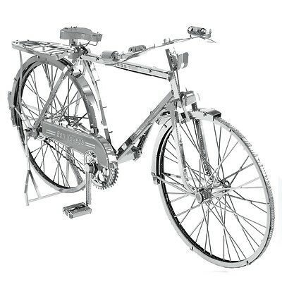 Fascinations ICONX Classic Bon Voyage Bicycle 3D Metal Earth Laser Cut Model Kit