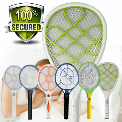 Rechargeable or Battery Power Mosquito Killer Bug Zapper Fly Swatter Fly Racket