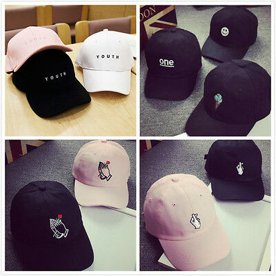 Korean Style Snapback Hats Unisex Hip-Hop Adjustable Peaked Hat Baseball Cap New