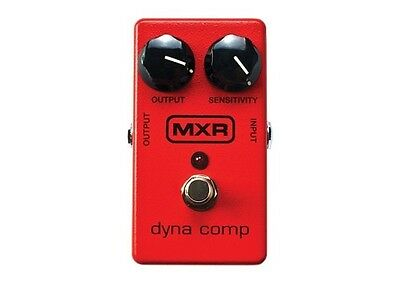 MXR Dyna Comp Guitar Effects Pedal Compressor / Sustain *NEW* Red MXR102