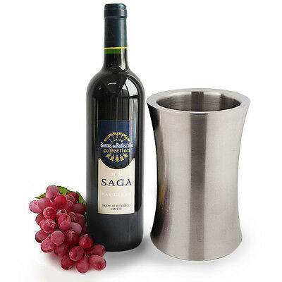 Red Wine Ice Bucket  KTV Ice Bucket Waist Ice Bucket Stainless Steel 7823