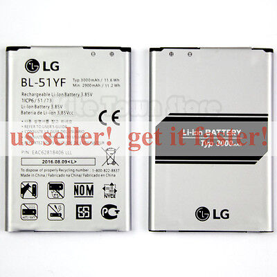 NEW Factory BL-51YF 3000mAh Battery For LG G4 H810 H811 LS991 VS986 US991