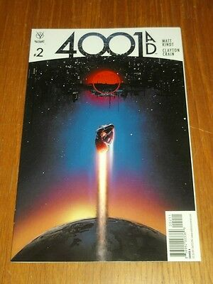4001Ad #2 Valiant Comics Cover A June 2016 Nm (9.4)