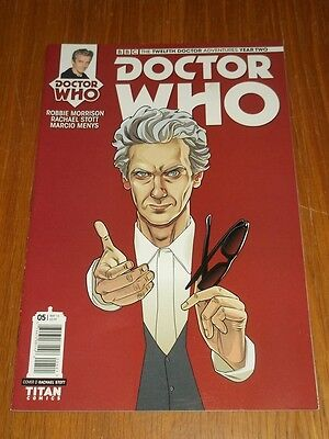 Doctor Who #5 Twelfth Doctor Year Two Titan Comics Cover D May 2016 Nm (9.4)
