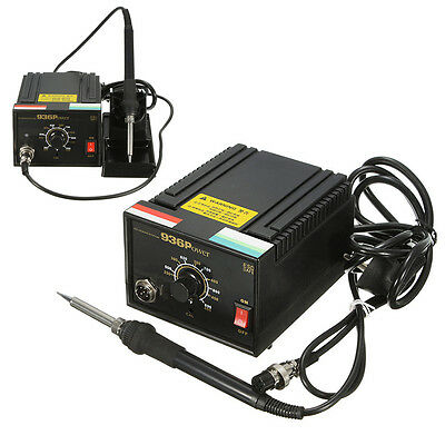 110V 220V 75W Frequency Change Desolder Welding 936 Power Soldering Iron Station