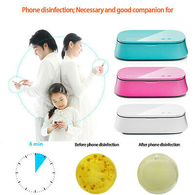 New UV Phone Sterilizer Daily Use Watch Jewelry Disinfector Home Incense Machine