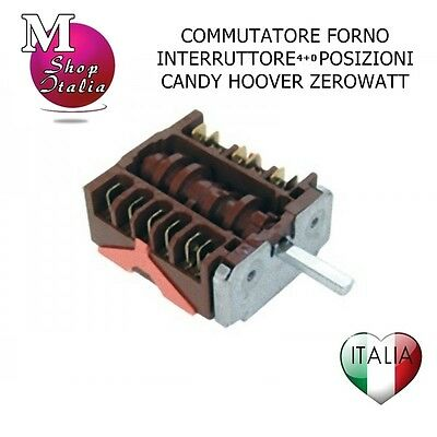 Commutatore 046.25866.521 EGO Forno compatibile Candy FST100 41003026 42814656