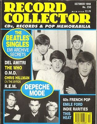 RECORD COLLECTOR 230 Francoise Hardy DEPECHE MODE This Heat OMD The WHO Beatles