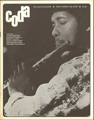 CODA 1978 George Russell  JAMES NEWTON Sonny Clark MOERS FESTIVAL Ray Anderson