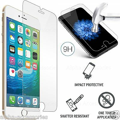 100% Genuine Tempered Glass Screen Protector Film For Apple Iphone 7 & 7 Plus