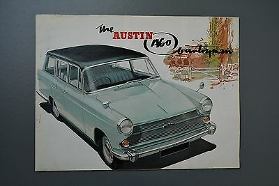 Vintage Brochure: Austin A60 Countryman Estate BMC No.2076/E