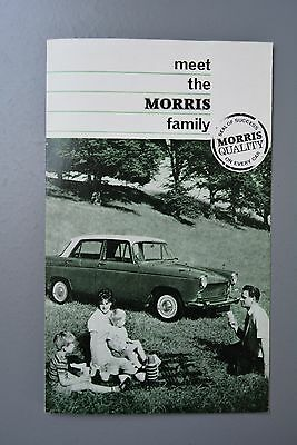 Vintage Brochure: Morris  BMC Range 1100/Mini/Oxford/Minor Traveller H&E 6483