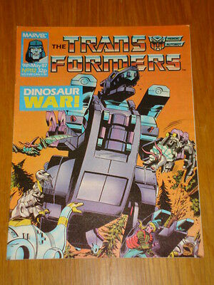 Transformers British Weekly #112 Marvel Uk Comic 1987