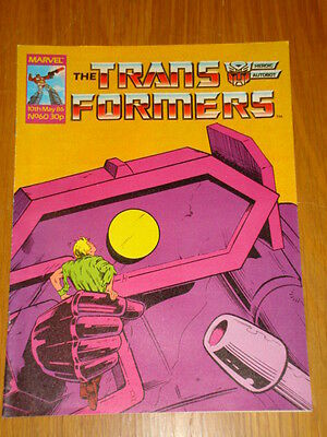Transformers British Weekly #60 Marvel Uk Comic 1986