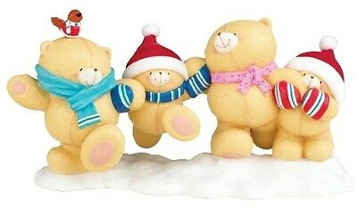 Forever Friends Bear Collectors Limited Edition Figurine - Christmas Fun # 488