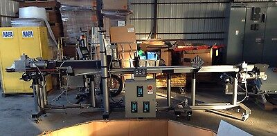 York Tamper Seal Package Line & Hugger Belt w/CTM Integration 360 Series Labeler