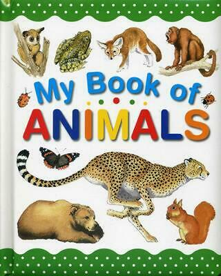 My Book of Animals by Wendy Madgwick (English) Paperback Book Free Shipping!
