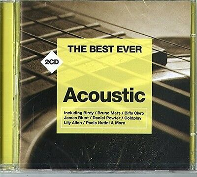 Various Artists - Best Ever: Acoustic / Various [New CD] UK - Import