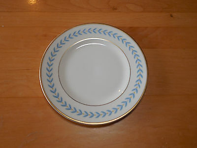 "Syracuse USA Fine China SHERWOOD Set of 6 Bread & Butter Plates 6 1/4"" Blue"