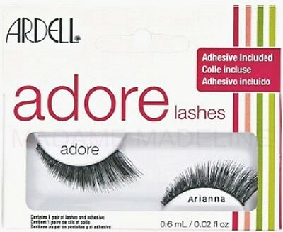 8d9555c8d23 Ardell Adore Fashion Lashes - ARIANNA - strip Eyelashes adhesive included  Oz.
