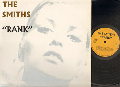 THE SMITHS RANK Morrissey LP NMINT Gatefold LIVE 1988