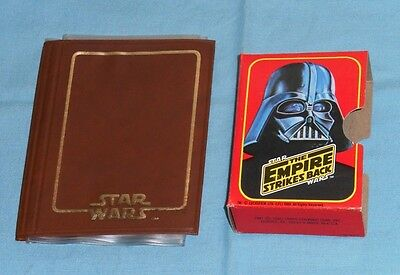 vintage Topps STAR WARS THE EMPIRE STRIKES BACK trading cards HOLDERS box