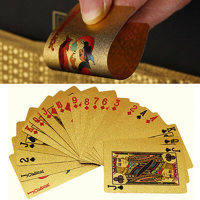 Personal Hobby Card Gold Plat Playing Cards Full Per Deck International Standard