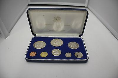 First National Coinage of Barbados 1973 Proof Set