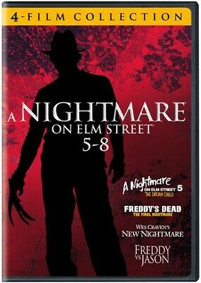 Nightmare on Elm Street 5-8: 4 Film Favorites  [2 Discs] (2009, DVD NEW)