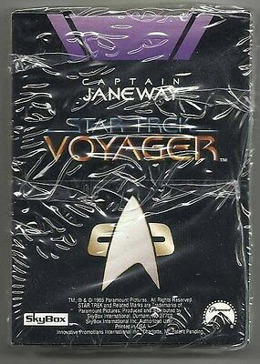 "1995 Star Trek Voyager BLOCKBUSTER POP-UP ""Complete Set"" of 9 SEALED Chase Cards"