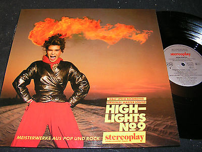 STEREOPLAY HIGHLIGHTS No.9 / German HALF SPEED RECORDING LP 1983 MARIFON 296116