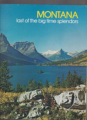 Montana Last of the Big Time Splendor Travel Booklet 1970s