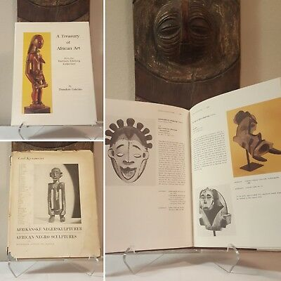 Fine African Art 2-book bundle RARE COLLECTIBLE Mask Figure Sculpture Statue