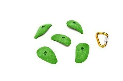 ETCH Finger Buckets Set B Climbing Hold, Green