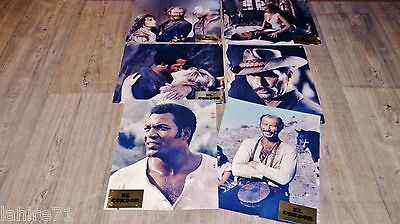 lee van cleef EL CONDOR !  jim brown jeu photos cinema luxe western 1969