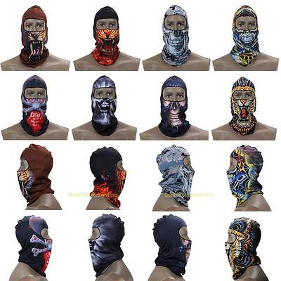 Motorcycle Bicycle Thermal Fleece Balaclava Neck Ski Full Face Mask Cap Cover