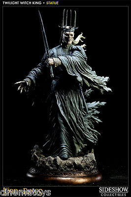 Lord of The Rings TWILIGHT WITCH-KING of NAZGUL Statue SIDESHOW RINGWRAITH Rare