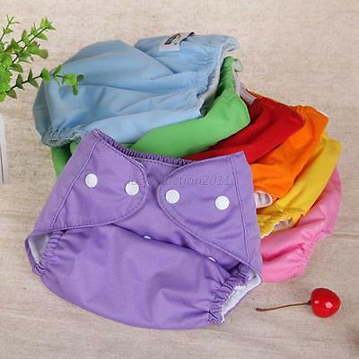 New Washable Baby Pocket Nappy Cloth Reusable Diaper Waterproof Cover Wrap