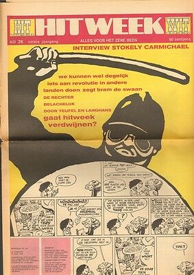 HITWEEK 1969 26 Stokely Carmichael MOBY GRAPE Nederlands Dans Theater CUBY