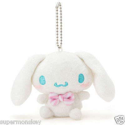 Sanrio Japan Cinnamoroll Plush Doll Keychain Key Ring 289639N